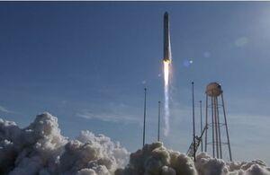 پرتاب موشک «آریان ۵» به فضا +عکس