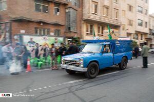 عکس/ مراسم اهدای جهیزیه به نوعروسان منطقه 14 تهران