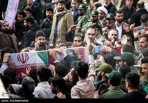 عکس/ تشیع باشکوه شهید مدافع حرم در خرمآباد