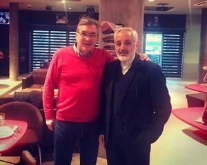 دیدار مجدد برانکو با سفیر ایران در کرواسی +عکس