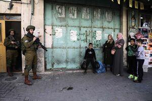 زخمی شدن نوزاد فلسطینی