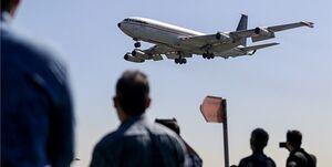 فیلم/ لحظه وحشتناک سقوط هواپیما