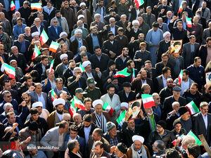 راهپیمایی مردم ساری و آمل در محکومیت اغتشاشگران