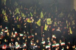 عکس/ اجتماع ۴ هزار نفری دختران بسیجی