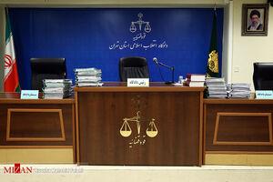 عکس/ یازدهمین دادگاه اتهامات علی دیواندری