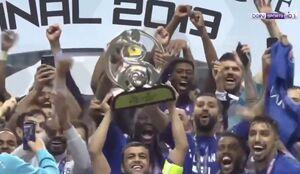 فیلم/ اهدای جام قهرمانی آسیا به الهلال