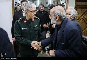 عکس/ چهرهها در مراسم ختم سردار حاجی محمدزاده