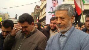 عکس/ حضور امیر سیاری در راهپیمایی امروز
