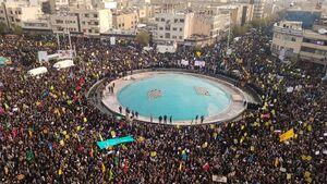 تجمع بزرگ مردم تهران در حمایت از امنیت و اقتدار ایران/ از خط و نشان برای اغتشاشگران تا اعتراض معیشتی به دولت  +عکس و فیلم