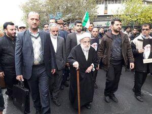 عکس/ حضور شخصیتها در راهپیمایی پایتخت
