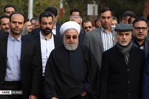 عکس/ حضور رئیسجمهوری در سرخه