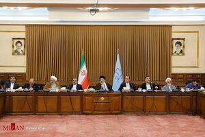 عکس/ دیدار اعضای فراکسیون ولایی مجلس با رییس قوه قضائیه