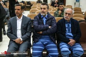 عکس/ دادگاه اتهمات علی دیواندری و سایر متهمان