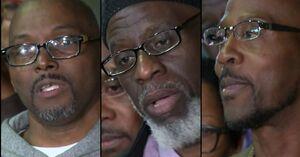۳ مرد آمریکایی پس از تحمل ۳۶ سال حبس با اثبات بیگناهی از زندان آزاد شدند!