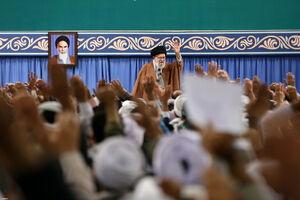 فیلم/ حال و هوای دیدنی امروز حسینیه امام خمینی(ره)