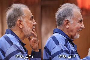 تغییر قیافه نجفی در دادگاه