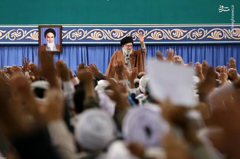 لازم میدانم تکریم و تعظیم خود را به ملت بزرگ ایران تقدیم کنم