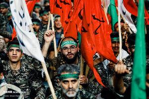 عکس/ اجتماع هزاران بسیجی در همدان