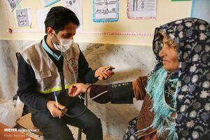 عکس/ اردوی جهادی درمانی در روستای محروم