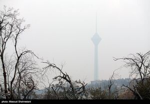 عکس/ هوای تهران در وضعیت اضطرار