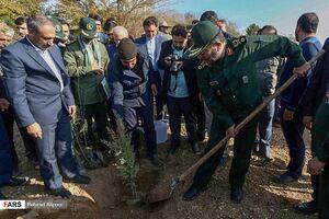 عکس/ سفر«رئیس سازمان بسیج مستضعفان»به همدان