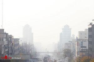 هوای تهران در شرایط اضطرار