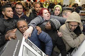 سیاه بازی فروشندهها در جمعه سیاه! +عکس