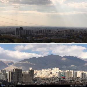 هوای تمیز تهران امروز