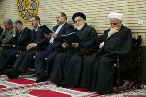 مراسم ترحیم همشیره رییس جمهور در تهران