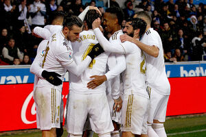 رئال مادرید به صدر جدول لالیگا صعود کرد