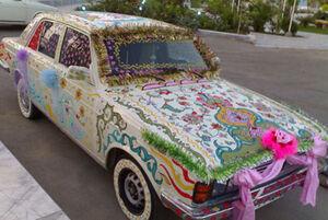پیکانی که ماشین عروس شد