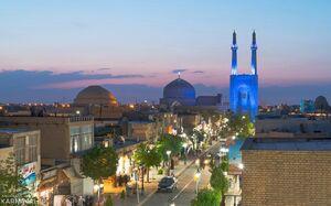 عکس/ هنر معماری ایرانی در مسجد جامع یزد