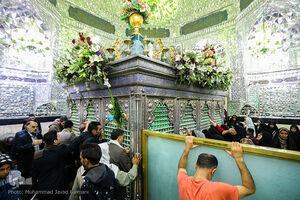 حال و هوای کربلای ایران در میلاد سیدالکریم