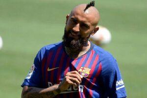 عصبانیت ویدال اردوی بارسلونا را به هم ریخت!