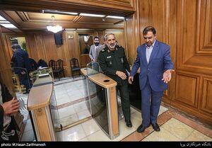 عکس/ سردار یزدی در شورای شهر