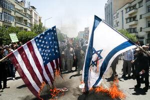 سوزاندن پرچم آمریکا و اسرائیل - نمایه