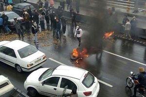 مهره سیا لو داد: آدمکشهای مسلح در پوشش معترضان +عکس