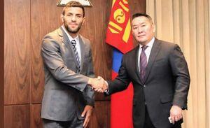 سعید ملایی شهروند مغولستان شد! +عکس