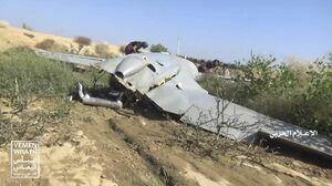 سرنگونی پهپاد سعودی توسط انصارالله