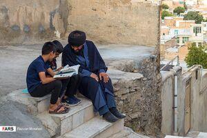 جهاد فرهنگی طلبه جوان در« اراک »