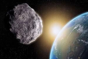 یک سیارک از کنار زمین گذشت