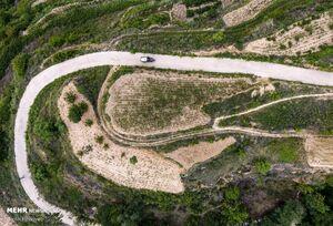 عکس/ آبرسانی به روستای چینی با حفر چاه عمیق