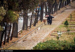عکس/ هوای بارانی کرمانشاه