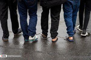 دستگیری799نفر سارق پایتخت