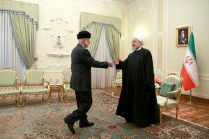 دیدار وزیرخارجه عمان با روحانی