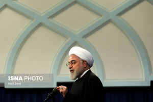 عکس/ روحانی در مراسم روز جهانی معلول