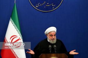فیلم/ روحانی: بدون سهمیهبندی در سال1400 واردکننده بنزین میشدیم