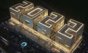 افتتاح ساختمان زیبای جامجهانی۲۰۲۲ قطر +عکس