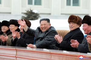 سفر اون به شهر سامجیونون کره شمالی