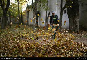 عکس/ تهران پاییزی